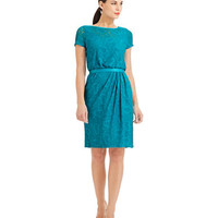Women's Clothing | $99 Essential Dresses | Short Sleeve Lace Dress | Lord and Taylor