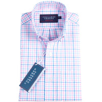 The Grove Button Down Blue/Pink