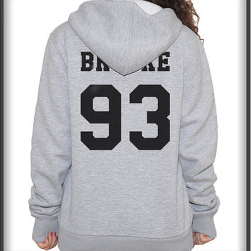 Brooke 93 Ally Brooke Black ink on back Unisex Pullover Hoodie S to 3XL