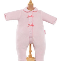 "Corolle 12"" Doll Footie Pajamas - Pink"