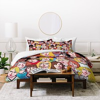 Renie Britenbucher Girls Night Out Happy Hour Duvet Cover