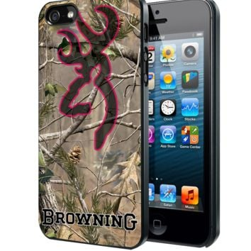 Browning Deer Camo Samsung Galaxy S3 S4 S5 Note 3 , iPhone 4 5 5c 6 Plus , iPod 4 5 case