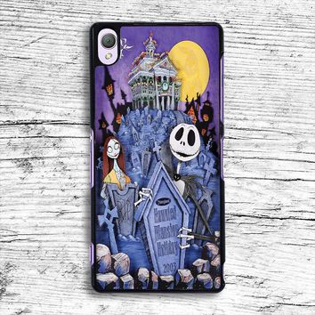 The Nightmare Before Christmas Sony Xperia Case, iPhone 4s 5s 5c 6s Plus Cases, iPod Touch 4 5 6 case, samsung case, HTC case, LG case, Nexus case, iPad cases