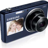 Samsung DV150F 16.2MP Smart WiFi Digital Camera with 5x Optical Zoom and 2-Inch front and 3-Inch Rear Dual LCD Screens (Black)