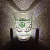 Jack Daniels Green Label Shot Glass Nightlight