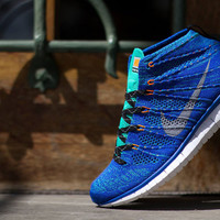"Nike Free Flyknit Chukka ""Game Royal/Wolf Grey"" 