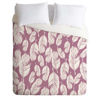 Rachael Taylor Feather Fun Duvet Cover