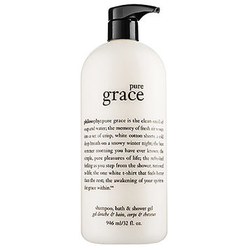 Pure Grace Foaming Bath and Shower Gel - philosophy | Sephora