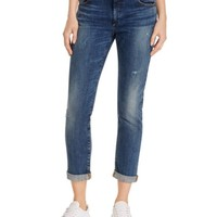 True Religion Audrey Slim Boyfriend Jeans in True Haze | Bloomingdales's