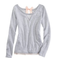 Aerie Bow-back Sweatshirt