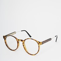 Spitfire Anorak2 Round Clear Lens Glasses