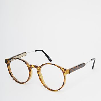 016980a53d Spitfire Anorak2 Round Clear Lens Glasses from ASOS
