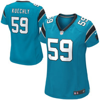 Luke Kuechly Carolina Panthers Nike Women's Game Jersey – Panther Blue