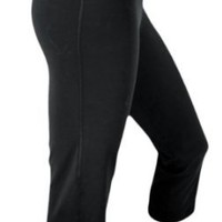 Amazon.com: Adidas Capri Fitness Slim Legging-Style Yoga Pants: Clothing