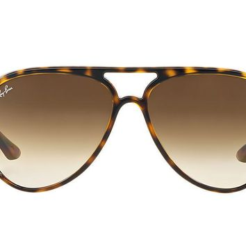 NEW SUNGLASSES RAY-BAN CATS 5000 RB4125 in Tortoise