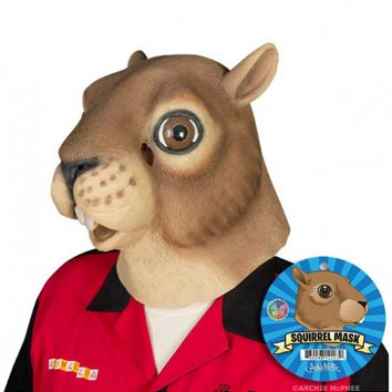 Brown Squirrel Mask