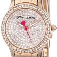 Betsey Johnson Women's BJ00272-03 Analog Display Quartz Rose Gold Watch