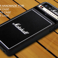 Marshall Amplifier Guitar - iPhone 4 / 4s or iPhone 5 Case - Hard Case Print - Black or White Case - Please leave message