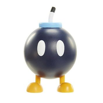 "Super Mario BOB-OMB 2.5"" Mini Figure World Of Nintendo"