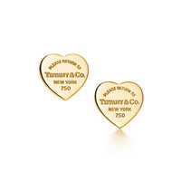 Tiffany & Co. - Return to Tiffany®:Heart Tag Earrings