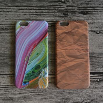 Rainbow Camoflage Hard Case Cover for iPhone
