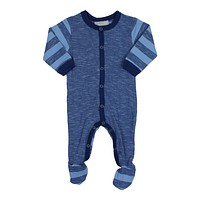 Coccoli Baby Boys' Striped Footie