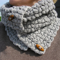 Free Shipping Handmade crochet Neck Warmer by JoFiberscreation