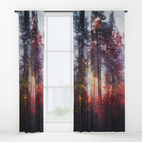 Warm fuzzy feelings Window Curtains by happymelvin