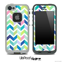 Color-Bright V3 Chevron Pattern Skin for the iPhone 5 or 4/4s LifeProof Case