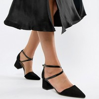 Truffle Collection Pointed Mid Heels at asos.com