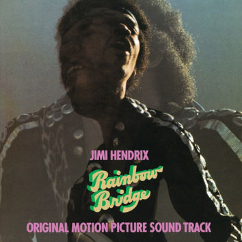 Jimi Hendrix : Rainbow Bridge - Original Motion Picture Soundtrack LP RE
