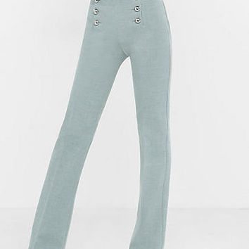 Mid Rise Sailor Flare Pant