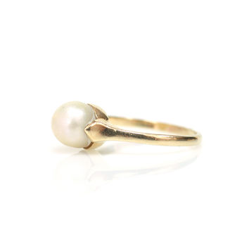 Pearl Arts & Crafts Ring