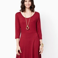 Afternoon Fit and Flare Dress | Fashion Apparel | charming charlie