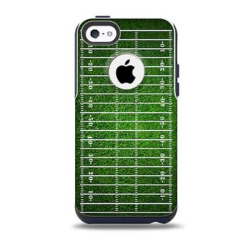 The Green Turf Football Field Skin for the iPhone 5c OtterBox Commuter Case