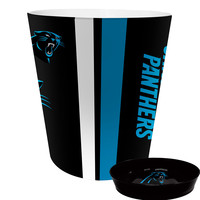 Carolina Panthers NFL Waste Basket with Soap Dish