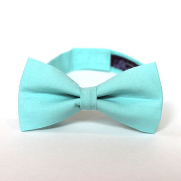 Boy's Bow Tie - Fresh Mint - Inspired by J.Crew - any size bowtie in aqua mint