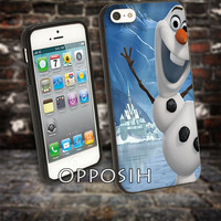 Disney Frozen Olaf Poster cover case for iPhone 4 4S 5 5C 5 5S 6 Plus Samsung Galaxy s3 s4 s5 Note 3 by opposih