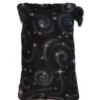 Glass Pipe PILLOW BAG / Black Night / Glass Protector / Chillum Size