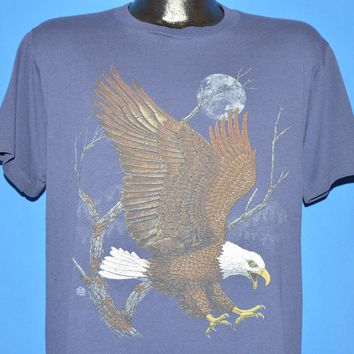 90s Screaming Eagle Full Moon Wilderness t-shirt Large
