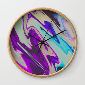 Tear Blinded Eyes Wall Clock by duckyb