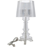 Modern Shimmering Acrylic Table Lamp