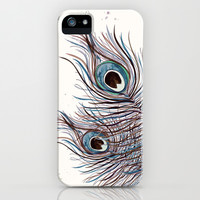 *** BOHO PEACOCK *** iPhone & iPod Case by Monika Strigel
