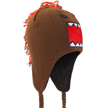 Domo - Big Face Mohawk Peruvian Knit Hat