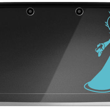 Rosalina Super Mario Galaxy 3DS or 3DS XL Decal