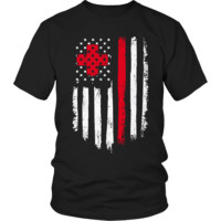 Nurse Flag T Shirt