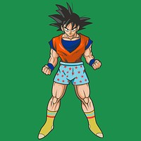 Casual Goku Pocket T-Shirt