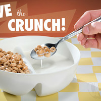 Just Crunch Cereal Bowl: Avoid Soggy Cereal