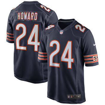 Men's Chicago Bears Jordan Howard Nike Navy Game Jersey