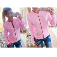 Fashion Hot Popular 2016 Trending Fashion Women Slim Slim Skinny  Sweater Cardigan Coat Jacket Outerwear _ 9352